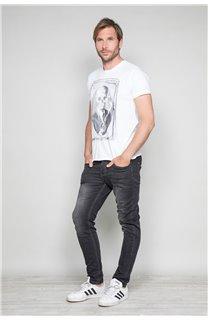 T-Shirt T-SHIRT DENIL Homme P197 (45278) - DEELUXE
