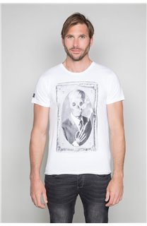 T-Shirt T-SHIRT DENIL Homme P197 (45279) - DEELUXE