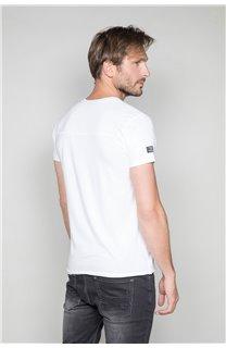 T-Shirt T-SHIRT DENIL Homme P197 (45280) - DEELUXE