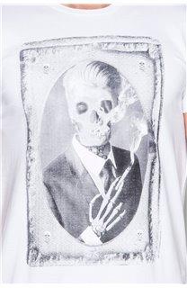 T-Shirt T-SHIRT DENIL Homme P197 (45281) - DEELUXE