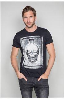 T-Shirt T-SHIRT CRYSTAL Homme P184 (45312) - DEELUXE
