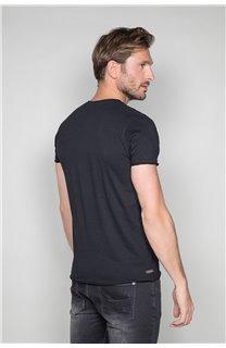 T-Shirt T-SHIRT CRYSTAL Homme P184 (45315) - DEELUXE