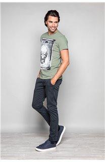 T-Shirt T-SHIRT CRYSTAL Homme P184 (45318) - DEELUXE