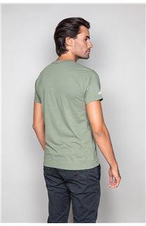 T-Shirt T-SHIRT CRYSTAL Homme P184 (45320) - DEELUXE