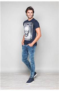 T-Shirt T-SHIRT CRYSTAL Homme P184 (45323) - DEELUXE