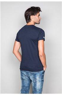 T-Shirt T-SHIRT CRYSTAL Homme P184 (45325) - DEELUXE