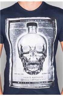 T-Shirt T-SHIRT CRYSTAL Homme P184 (45326) - DEELUXE