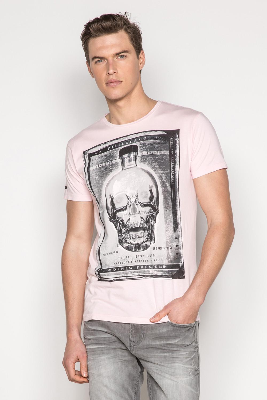 T-Shirt T-SHIRT CRYSTAL Homme P184 (45327) - DEELUXE