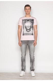T-Shirt T-SHIRT CRYSTAL Homme P184 (45328) - DEELUXE