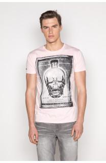 T-Shirt T-SHIRT CRYSTAL Homme P184 (45329) - DEELUXE