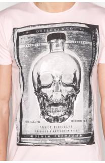 T-Shirt T-SHIRT CRYSTAL Homme P184 (45331) - DEELUXE