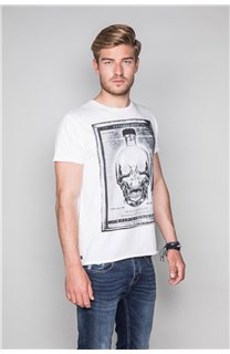 T-Shirt T-SHIRT CRYSTAL Homme P184 (45332) - DEELUXE