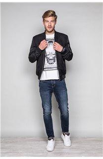T-Shirt T-SHIRT CRYSTAL Homme P184 (45333) - DEELUXE