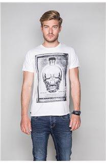 T-Shirt T-SHIRT CRYSTAL Homme P184 (45334) - DEELUXE