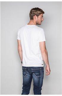 T-Shirt T-SHIRT CRYSTAL Homme P184 (45335) - DEELUXE