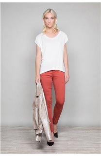 T-Shirt T-SHIRT SWEET Femme P131W (45510) - DEELUXE