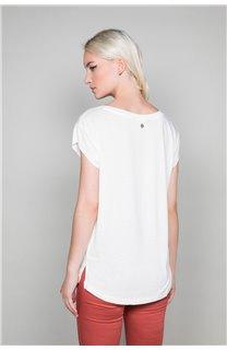 T-Shirt T-SHIRT SWEET Femme P131W (45512) - DEELUXE