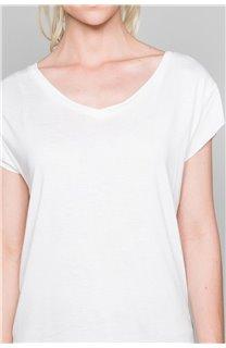 T-Shirt T-SHIRT SWEET Femme P131W (45513) - DEELUXE