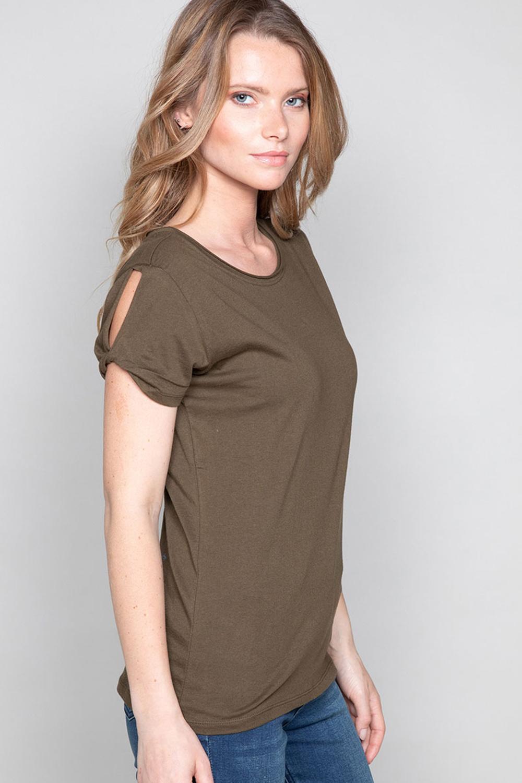 T-Shirt T-SHIRT TRUST Femme P130W (45514) - DEELUXE