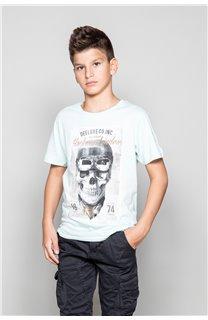 T-Shirt CLEM Garçon P196B (45549) - DEELUXE