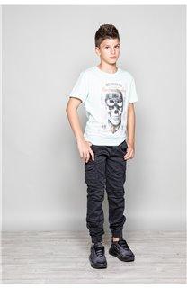 T-Shirt CLEM Garçon P196B (45550) - DEELUXE