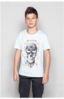 T-Shirt CLEM Garçon P196B (45551) - DEELUXE