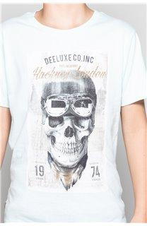 T-Shirt CLEM Garçon P196B (45553) - DEELUXE