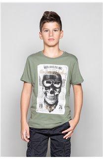 T-Shirt CLEM Garçon P196B (45554) - DEELUXE