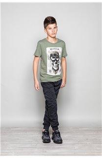 T-Shirt CLEM Garçon P196B (45555) - DEELUXE