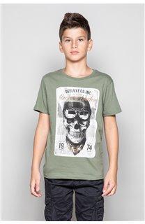 T-Shirt CLEM Garçon P196B (45556) - DEELUXE