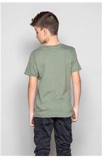 T-Shirt CLEM Garçon P196B (45557) - DEELUXE