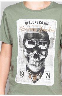 T-Shirt CLEM Garçon P196B (45558) - DEELUXE
