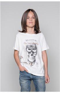 T-Shirt CLEM Garçon P196B (45564) - DEELUXE