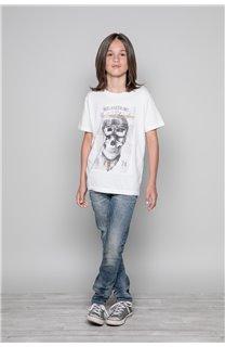 T-Shirt CLEM Garçon P196B (45565) - DEELUXE