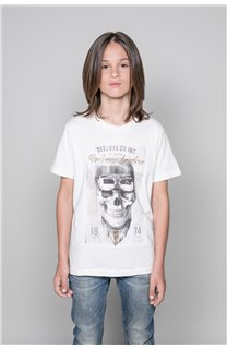 T-Shirt CLEM Garçon P196B (45566) - DEELUXE
