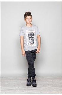 T-Shirt CLEM Garçon P196B (45570) - DEELUXE