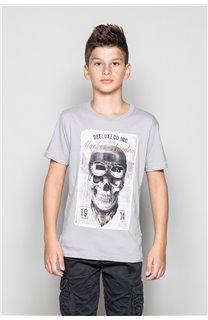 T-Shirt CLEM Garçon P196B (45571) - DEELUXE