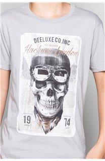 T-Shirt CLEM Garçon P196B (45573) - DEELUXE