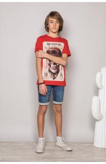 T-Shirt CLEM Garçon P196B (45575) - DEELUXE