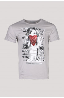 T-Shirt T-SHIRT BONNIE Homme S19182 (45823) - DEELUXE