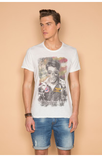 T-Shirt MAVERICK Homme S19198 (45825) - DEELUXE