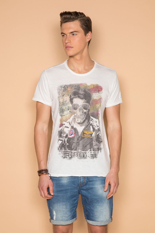 T-Shirt T-SHIRT MAVERICK Homme S19198 (45825) - DEELUXE