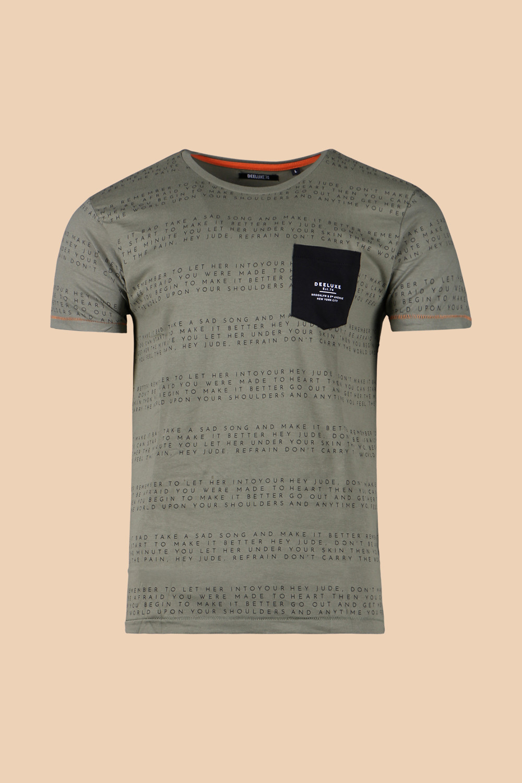 T-Shirt T-SHIRT SCRIPT Homme S19125 (45912) - DEELUXE