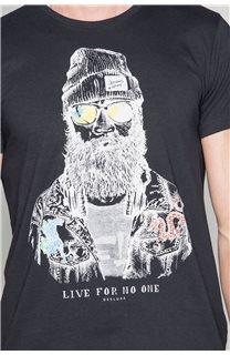 T-Shirt TELLIER Homme W19156 (46031) - DEELUXE