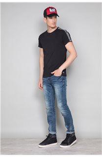 T-Shirt T-SHIRT COLBERT Homme W19187 (46038) - DEELUXE