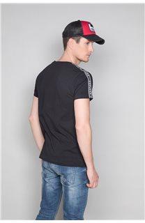 T-Shirt T-SHIRT COLBERT Homme W19187 (46040) - DEELUXE