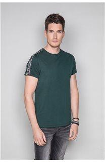 T-Shirt T-SHIRT COLBERT Homme W19187 (46042) - DEELUXE