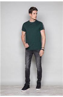 T-Shirt T-SHIRT COLBERT Homme W19187 (46043) - DEELUXE