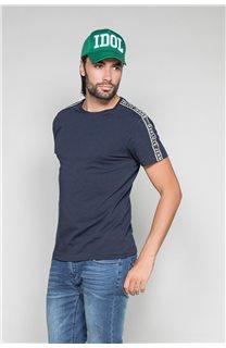 T-Shirt T-SHIRT COLBERT Homme W19187 (46047) - DEELUXE