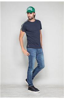 T-Shirt T-SHIRT COLBERT Homme W19187 (46048) - DEELUXE